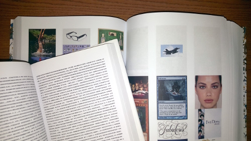 Photo of two books exhibited in Author Function