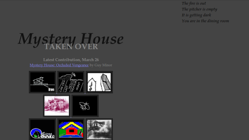 Mystery House Taken Over index