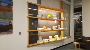 Author Function Rotch main display case