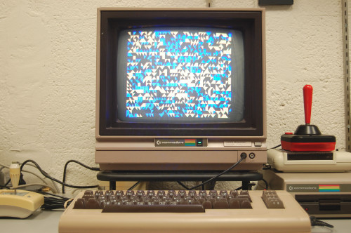 C64 BASIC Code running in the Trope Tank
