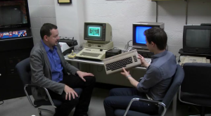 Apple Commodore video