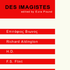 Des Imagistes, first Web edition