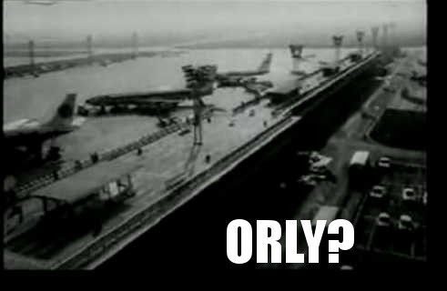 Orly Airport from La Jetée