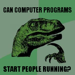 Can a computer program ... get people running?