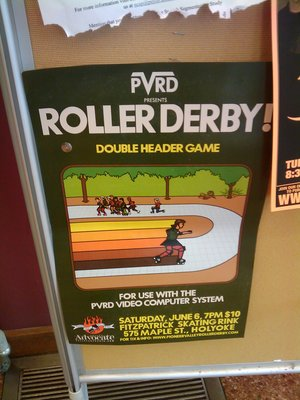 Roller Derby, early Activision style