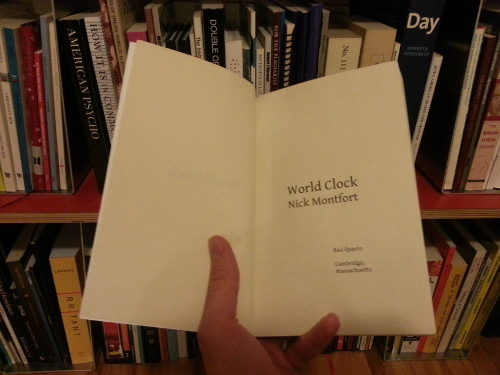 World Clock's title page